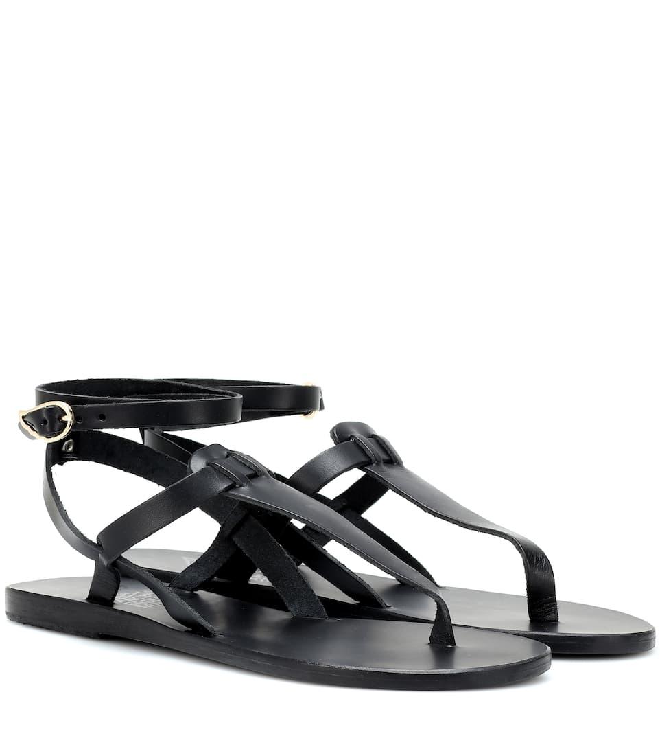 Estia Leather Sandals by Ancient Greek Sandals