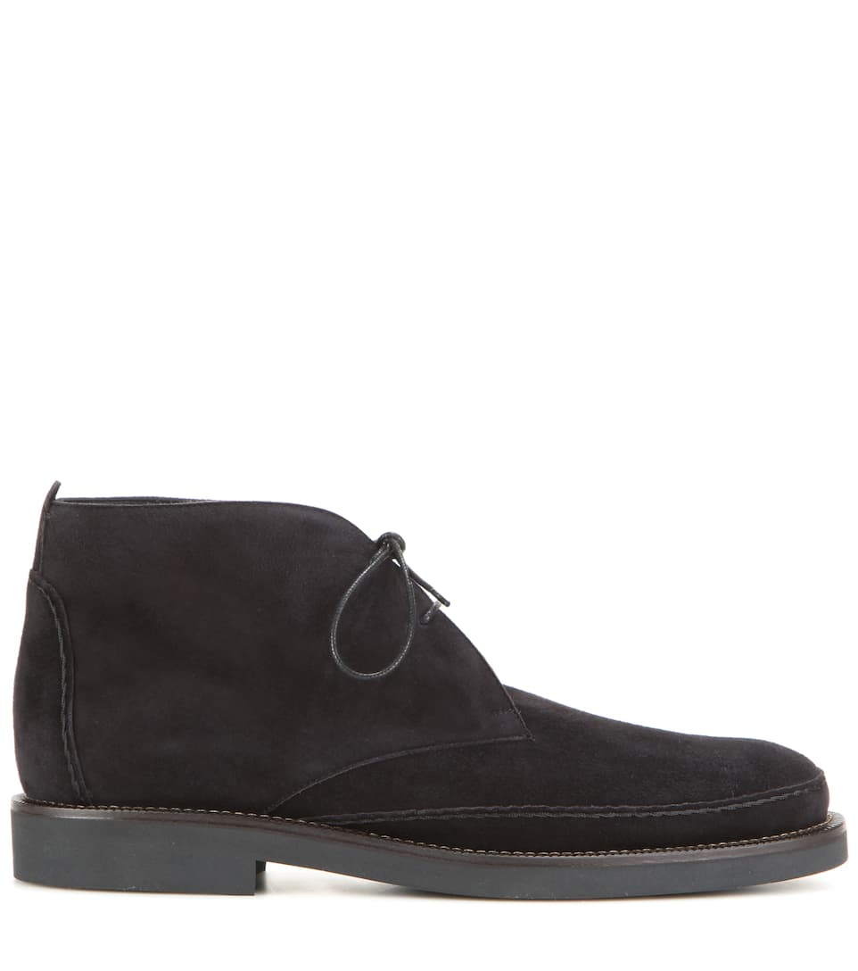 Loro Piana Desert Boots From Suede Vars