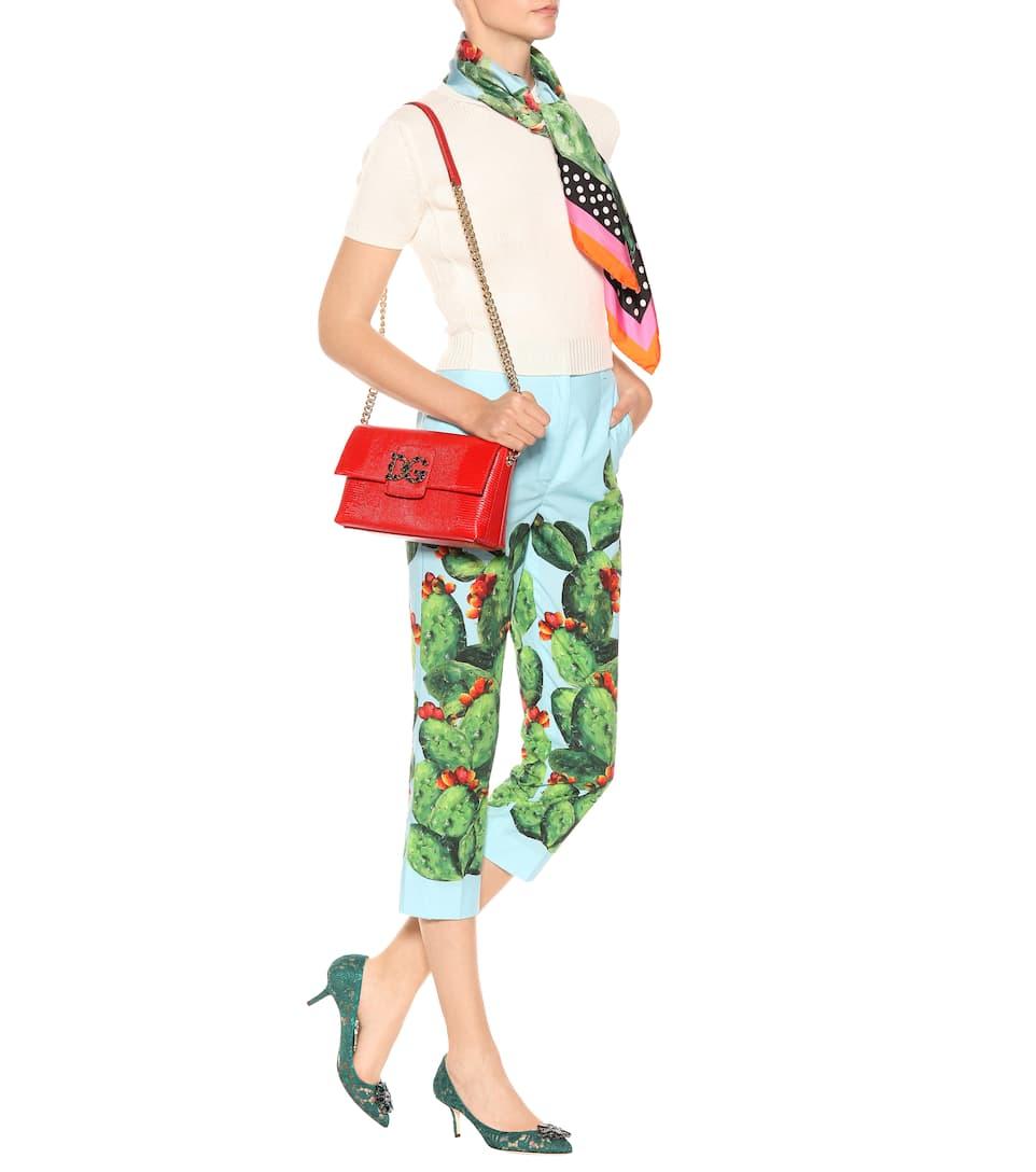 Dolce & Gabbana Schultertasche DG Millennials aus Leder Auslass Perfekt Spielraum 2018 7HiZwp