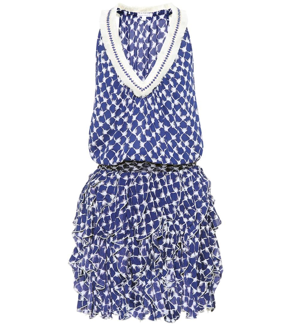 Poupette St Barth Kleid mit Volants Günstiger Preis Versandkosten Für Verkauf Mit Paypal Billig Einkaufen pHrQ7Km