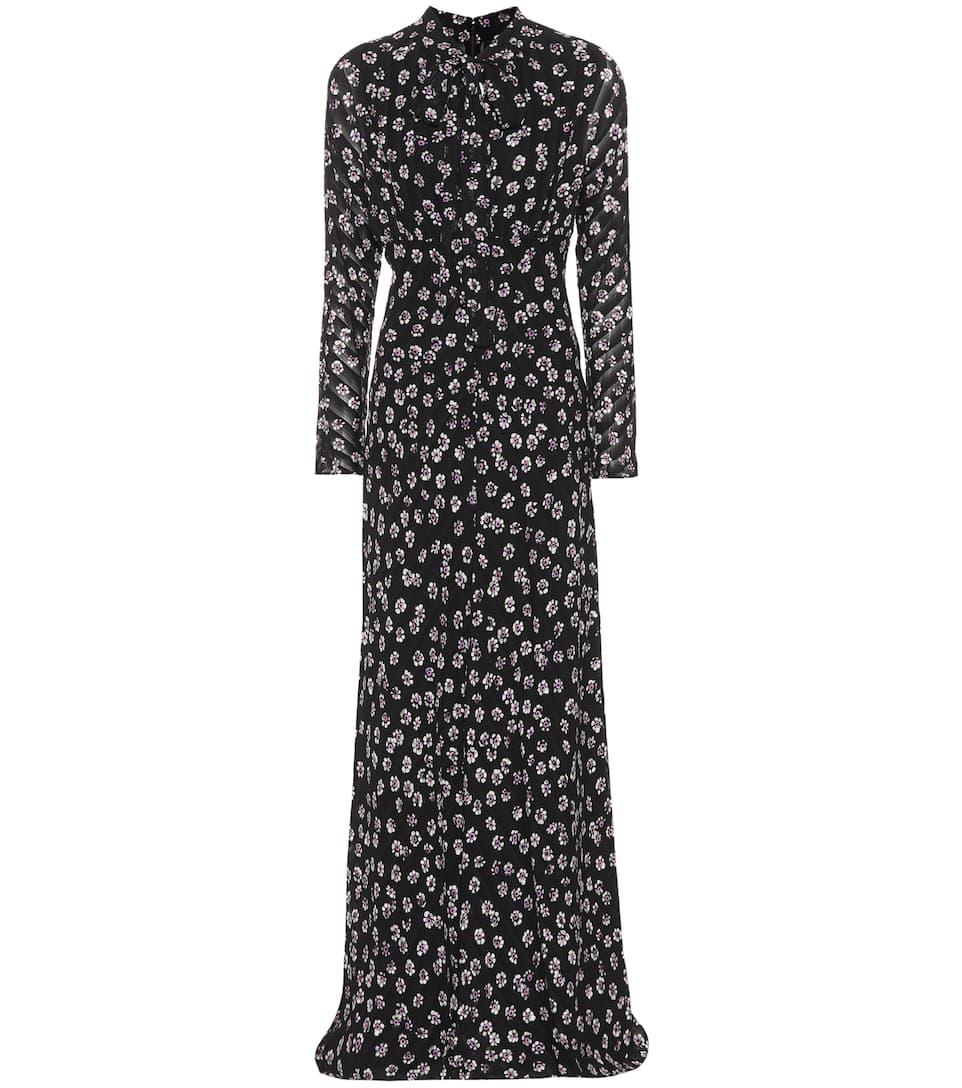 Tory Burch Bedruckte Robe Diane aus Seide