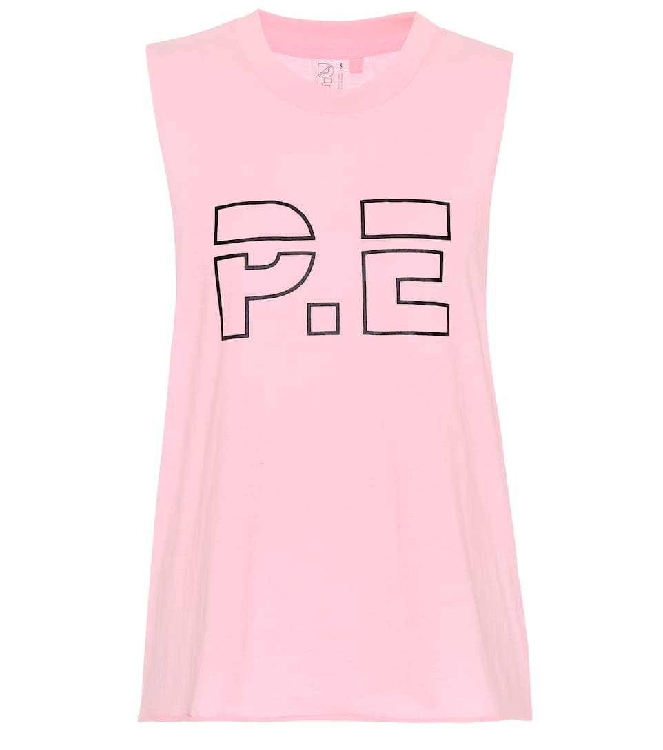 Ramp Up Cotton Tank Top by P.E Nation