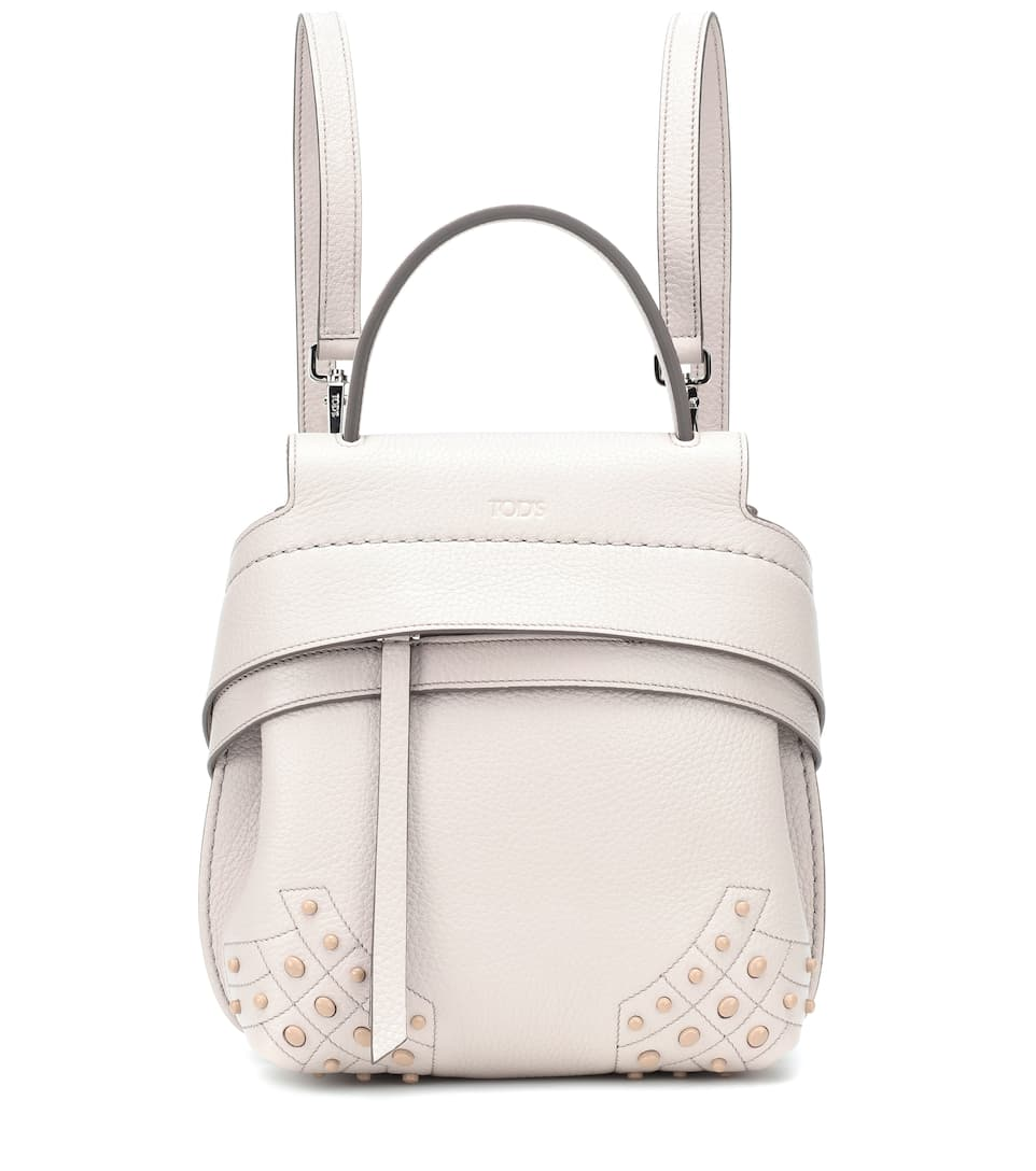 b7de8ac28ca4 Tod s - Wave Mini leather backpack
