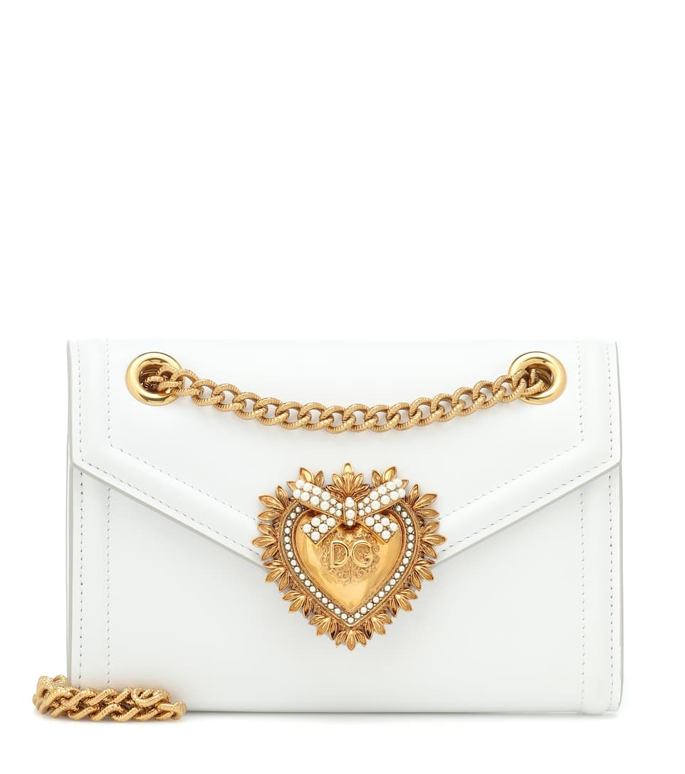772c828af66 Mini Devotion Leather Shoulder Bag - Dolce & Gabbana | Mytheresa