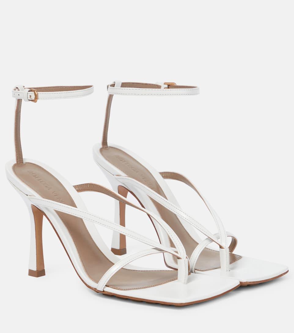 Stretch Leather Sandals - Bottega