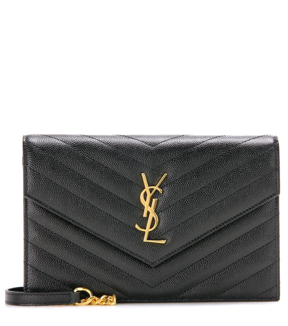 Saint Laurent Classic Monogram quilted leather shoulder bag Nero With Paypal Sale Official Site Professional Clearance Pictures Cheap Fake GFdjqm7KE