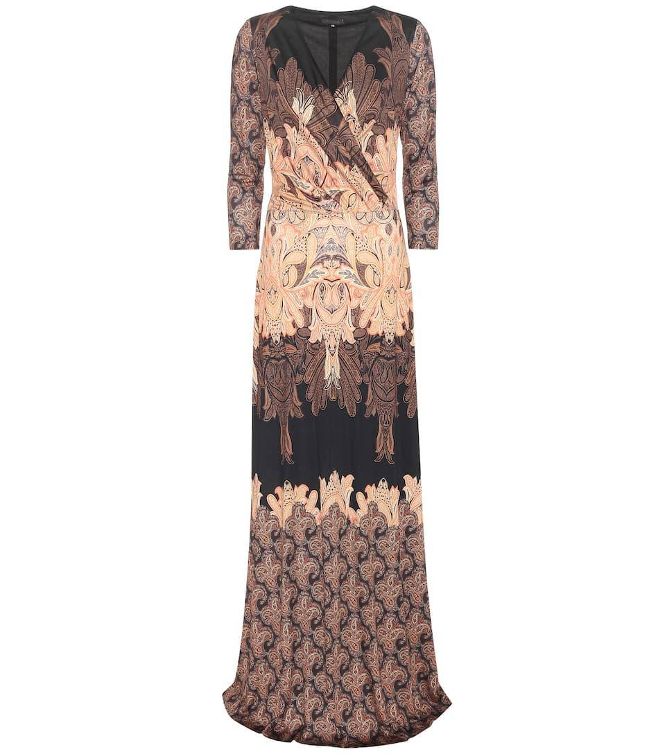 Etro Printed silk jersey dress