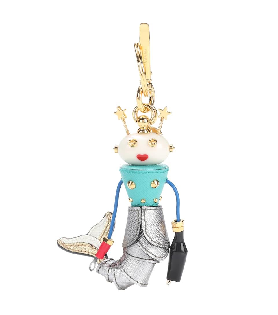 Sites De Prix Pas Cher Charm En Cuir - Prada Pas Cher De Jeu Pas Cher Pas Cher En Ligne Envoi Gratuit Envoi Bas Frais De Prix Jeu 100% Authentique 6HlfMCAMz