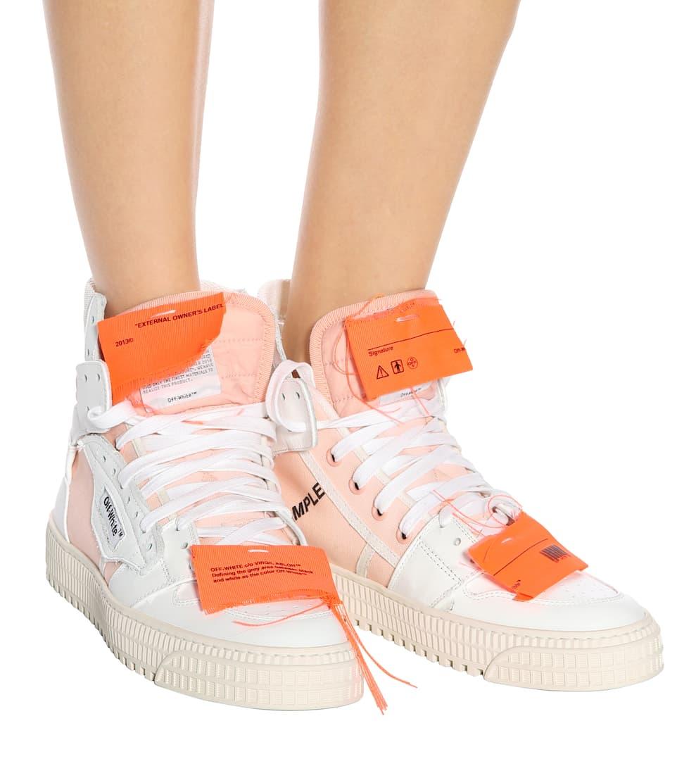 Off-White Exklusiv bei mytheresa.com – Sneakers aus Leder Freies Verschiffen Bester Platz Erhalten Authentisch Günstigen Preis Wwxk7twVj