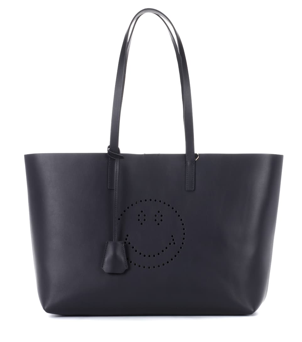 Anya Hindmarch Shopper Ebury Smiley aus Leder