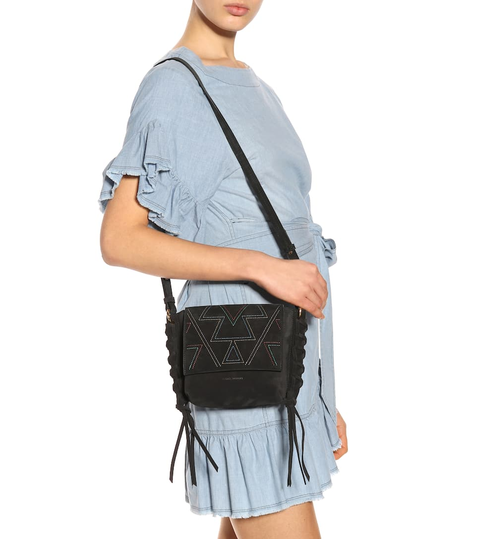 Sac cross-body en daim Kleny IfpNdNYSG