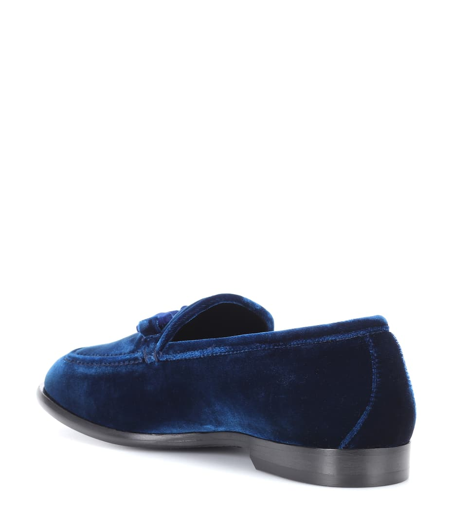 Jimmy Choo Loafers Marti aus Samt