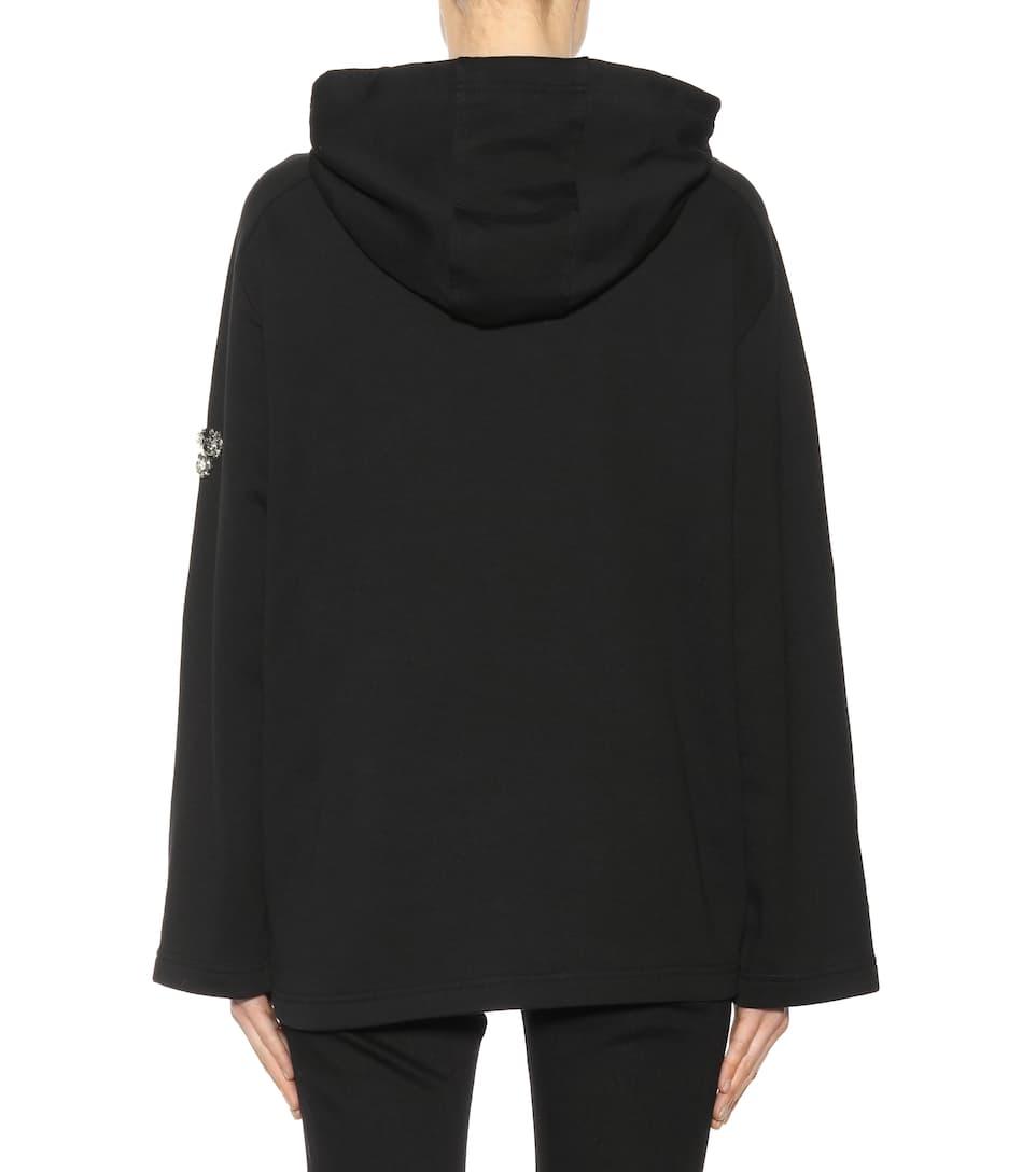 Auftrag  Wie Viel McQ Alexander McQueen Verzierter Hoodie aus Baumwolle Günstig Kaufen Footlocker Finish  Um Online Bester Ort 18hSn8