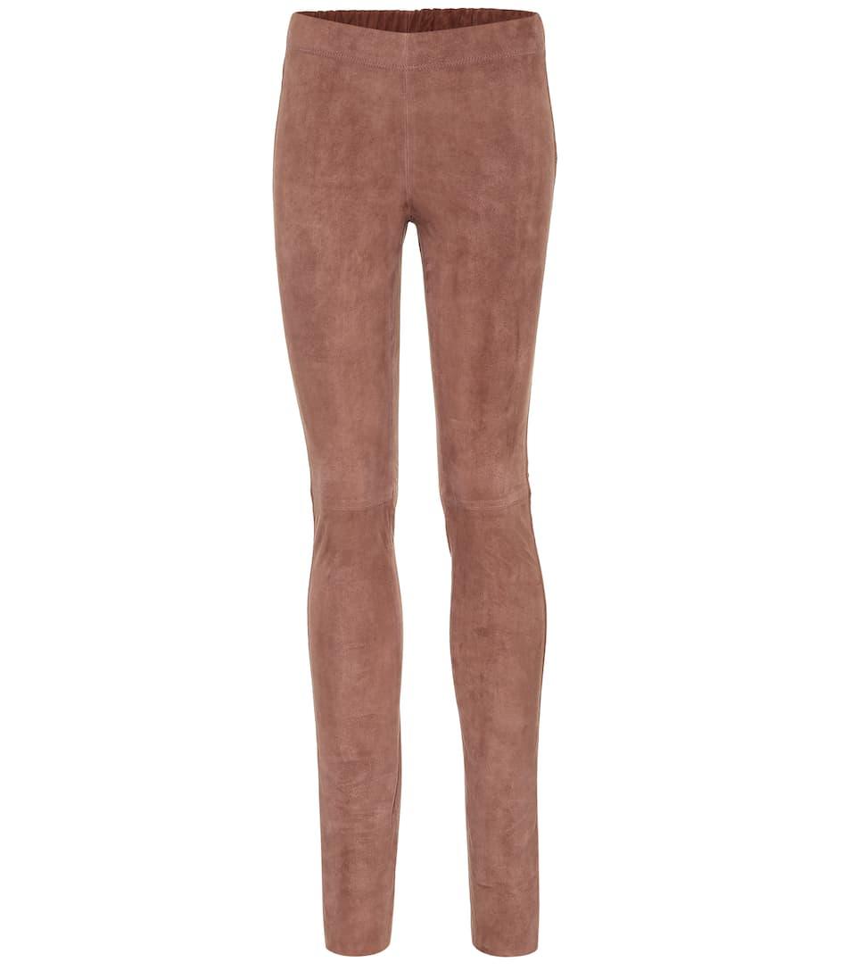 ef379b778925c9 Joseph - Suede leggings | Mytheresa