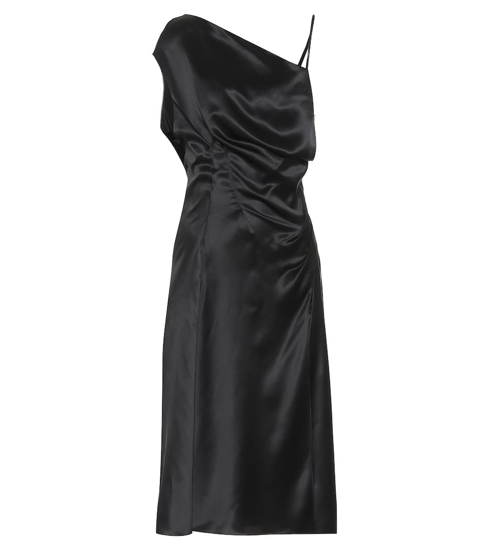 13b057bdf6a Asymmetrical Silk-Satin Dress