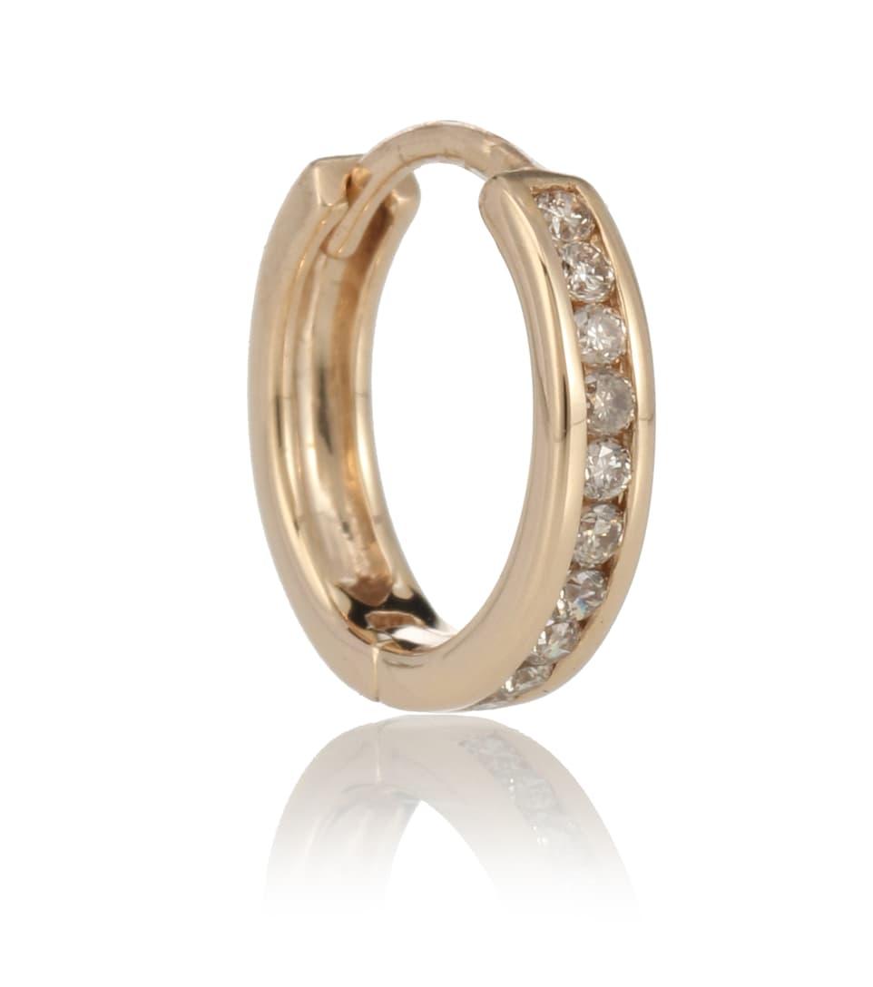 Et Boucle Anna Sheffield D'oreille Unique Licol Diamants En 14 Ct Or FT3uK1Jlc