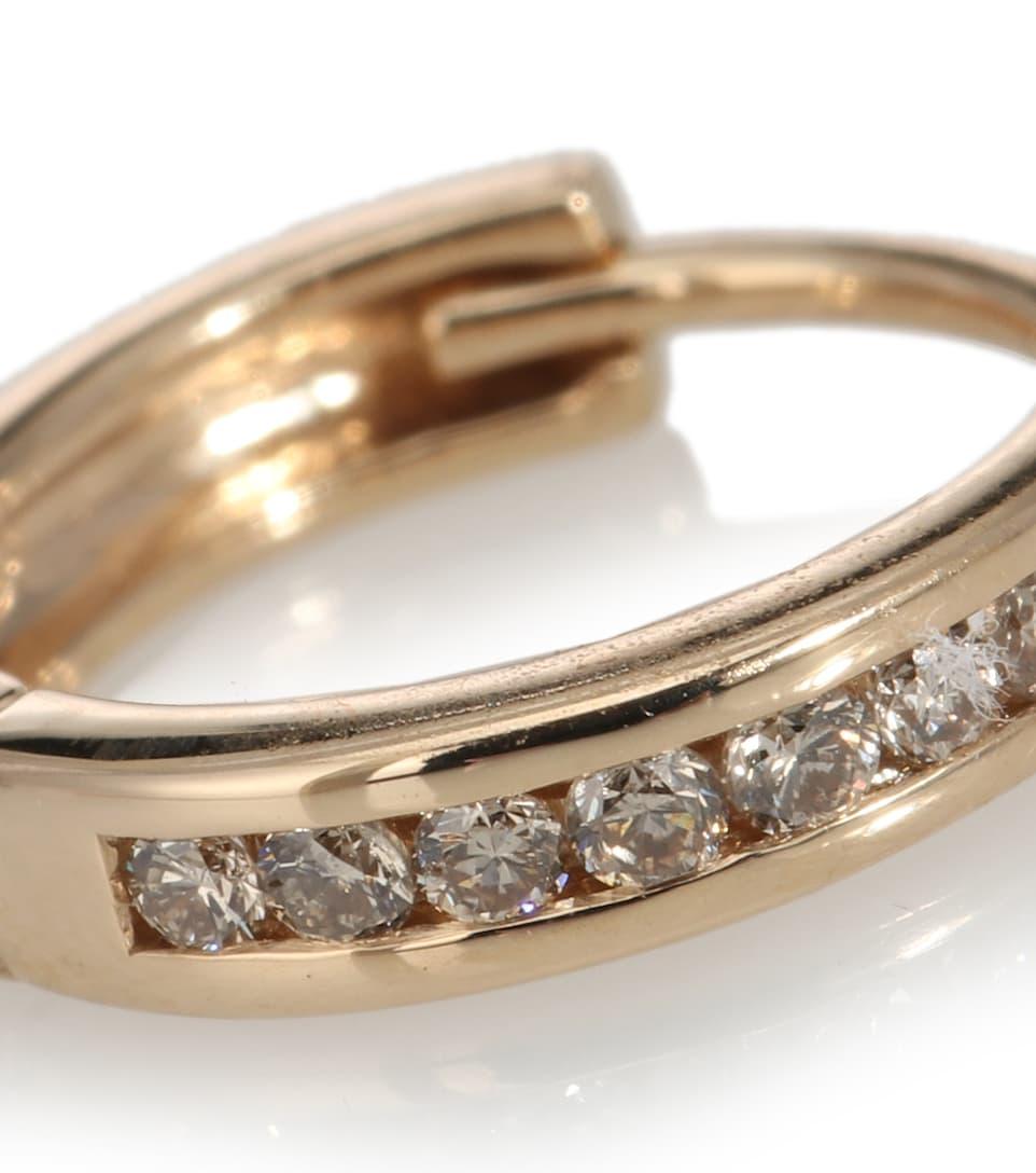 N° Sheffield Artnbsp;p00380387 14 Mytheresa Ct Et D'oreille En Or Unique Licol DiamantsAnna Boucle D29WIEH