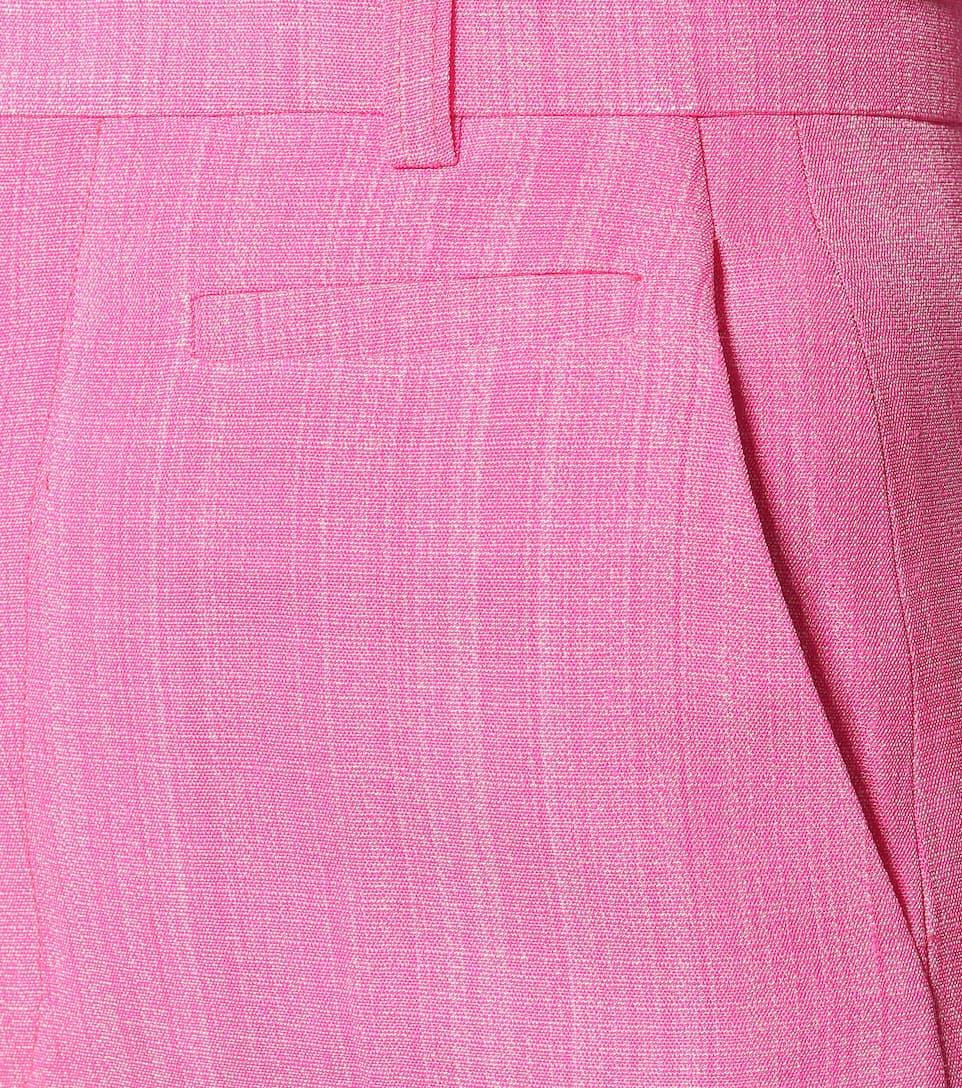 Pantaloni Santon In Misto Seta - Jacquemus