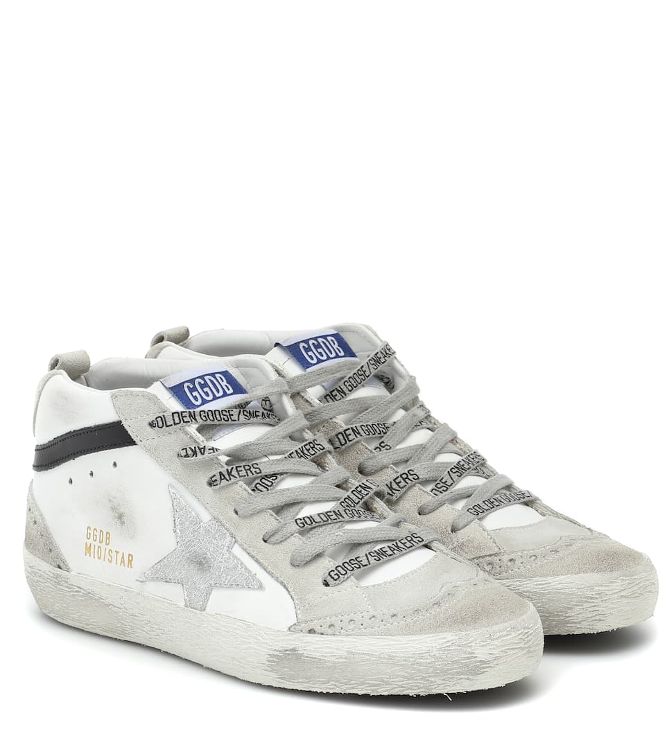 Golden Goose - Mid Star leather