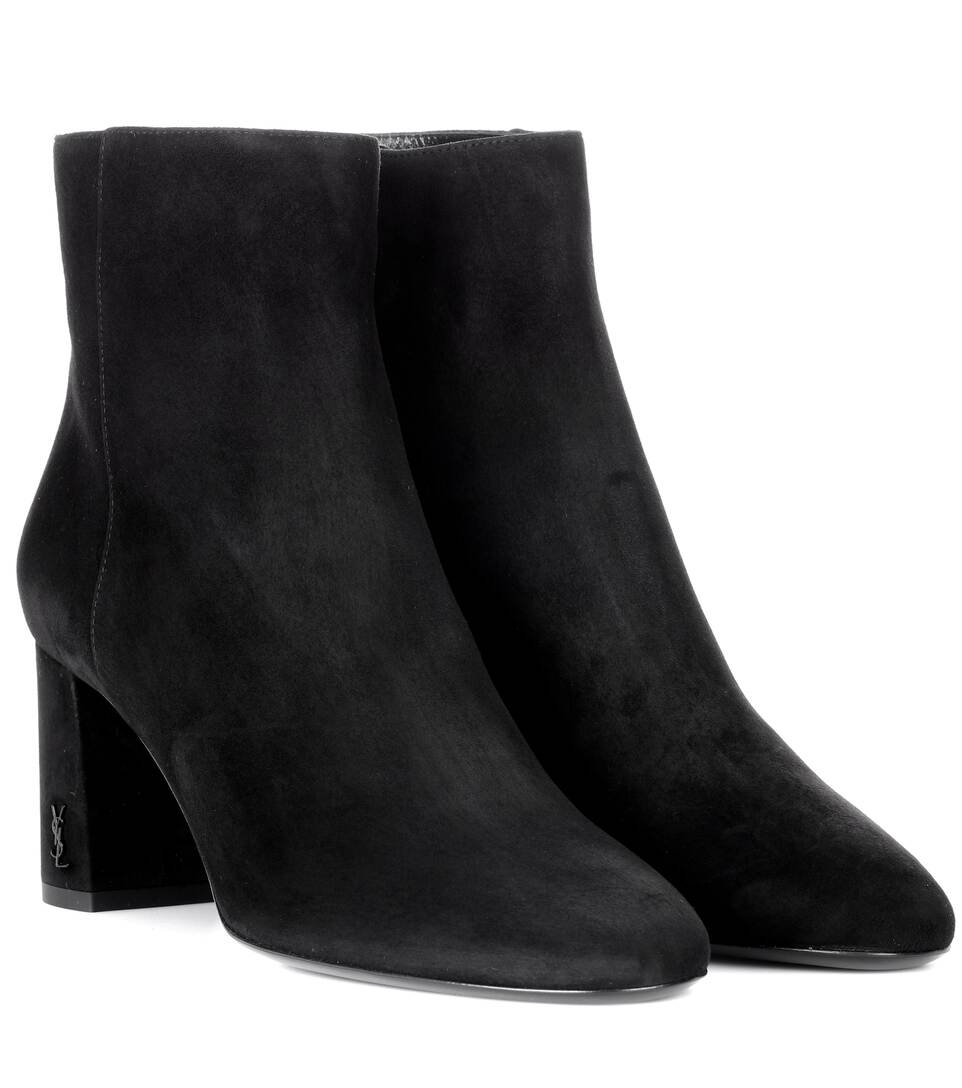 buy cheap under $60 outlet locations sale online Saint Laurent LouLou 70 suede ankle boots outlet where can you find outlet professional outlet reliable yE3DrWs