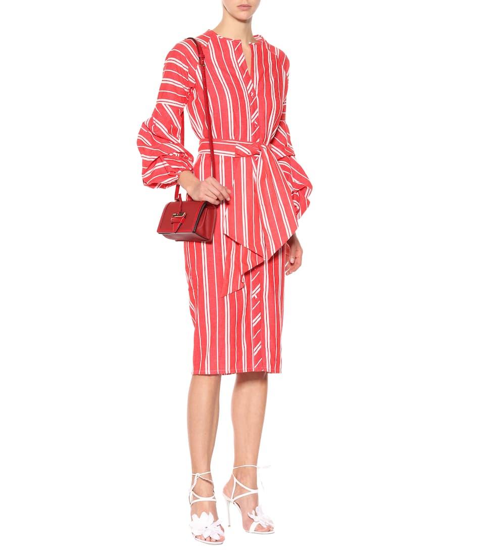 Ortiz de vestido Roja Santa lino Johanna Atardecer Fe SWBcz6T