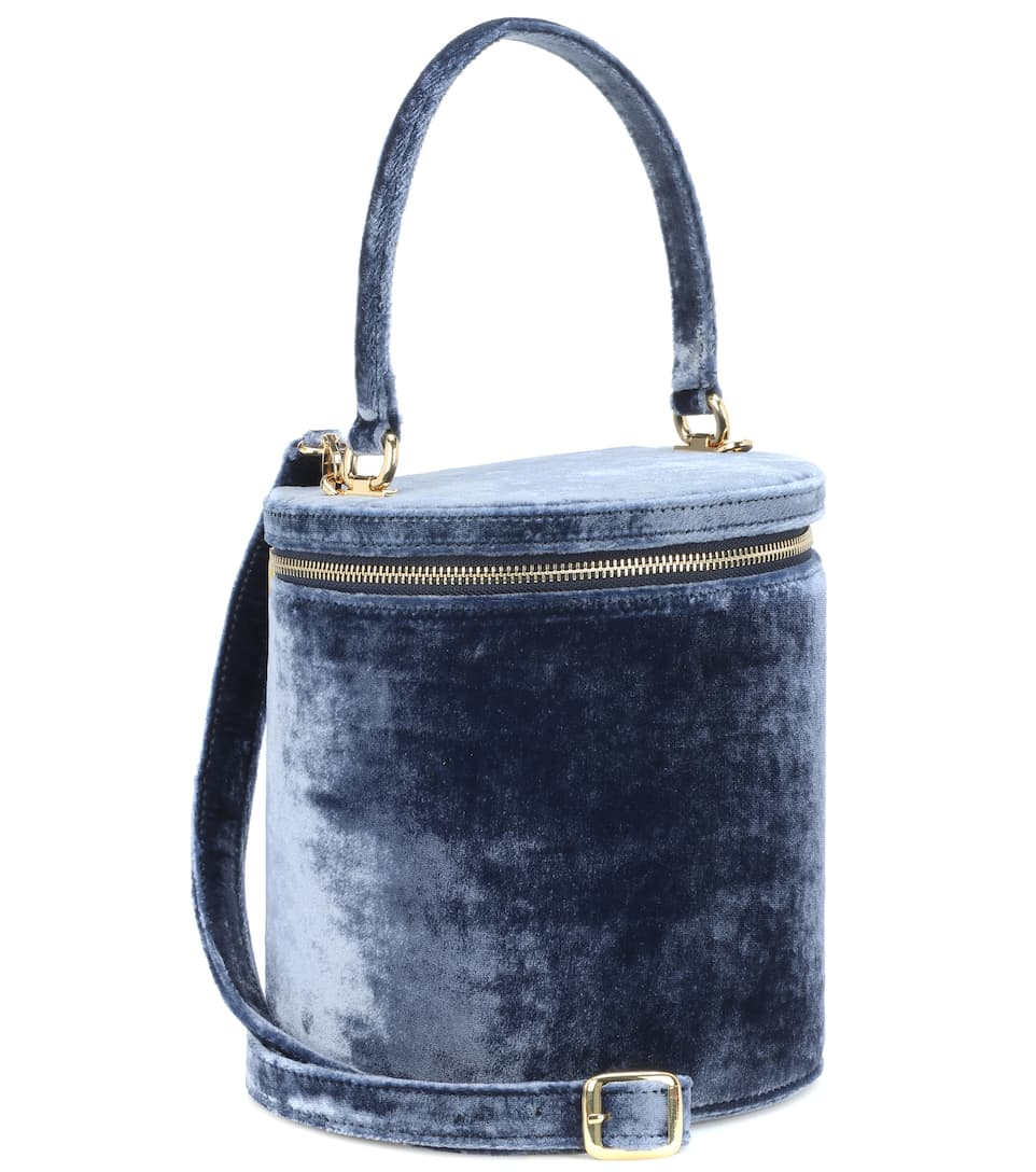 Staud Bucket-Bag Vitti aus Samt