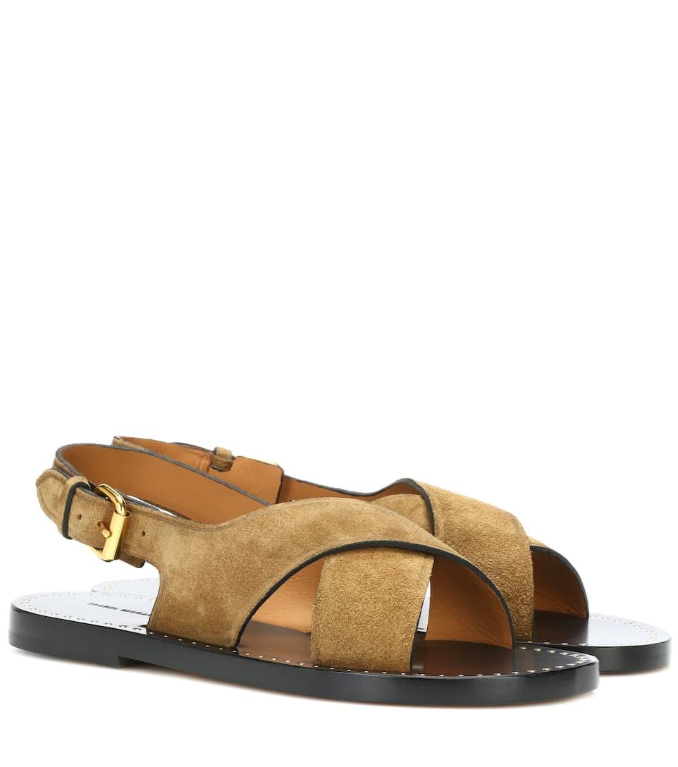 Isabel Marant Sandals Jane Of Leather
