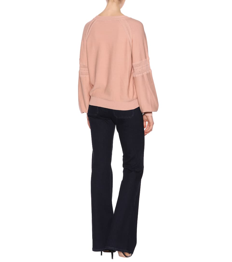 Chloé Decorated Sweater With Cotton Share