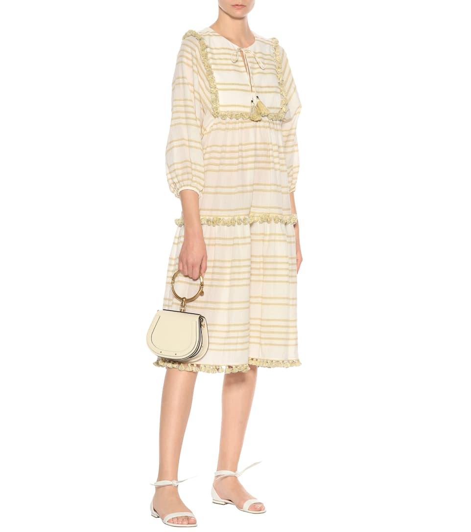 Zimmermann Striped cotton dress Stripe Cheap Ebay Purchase Online Buy Online New Outlet Cheap Price Rsj5oeBeQ