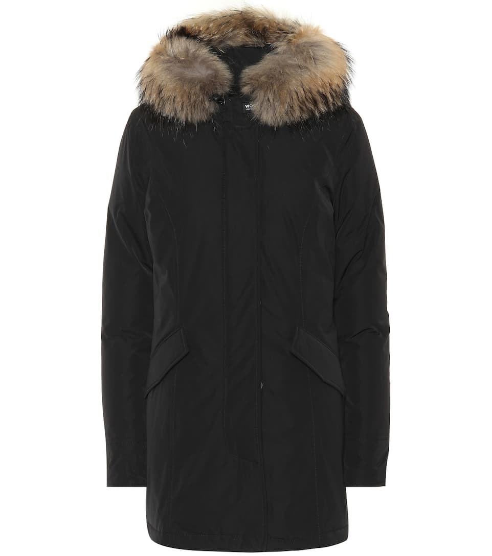 Luxury Arctic Fur Trimmed Parka by Woolrich