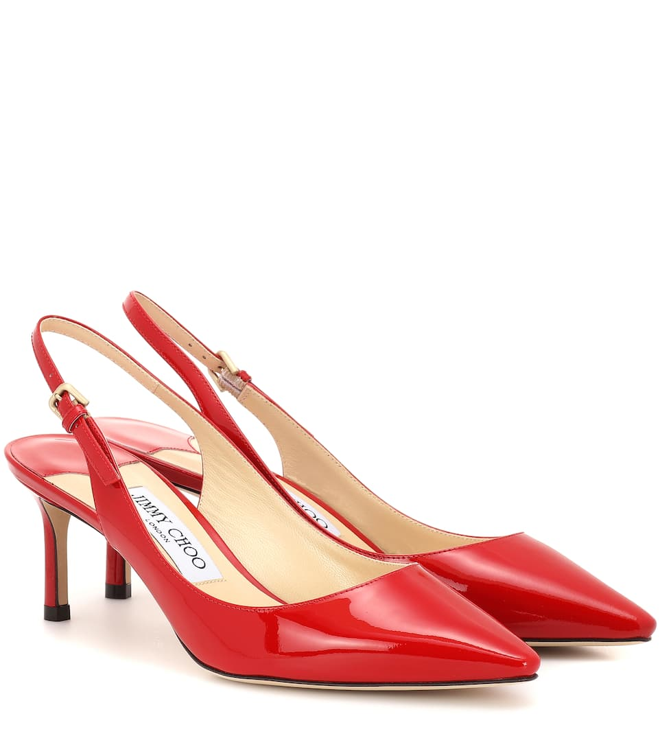fa4e244d25e6 Jimmy Choo - Erin 60 slingback leather pumps