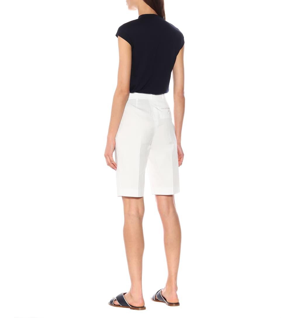 Loro Piana - Barney stretch cotton shorts