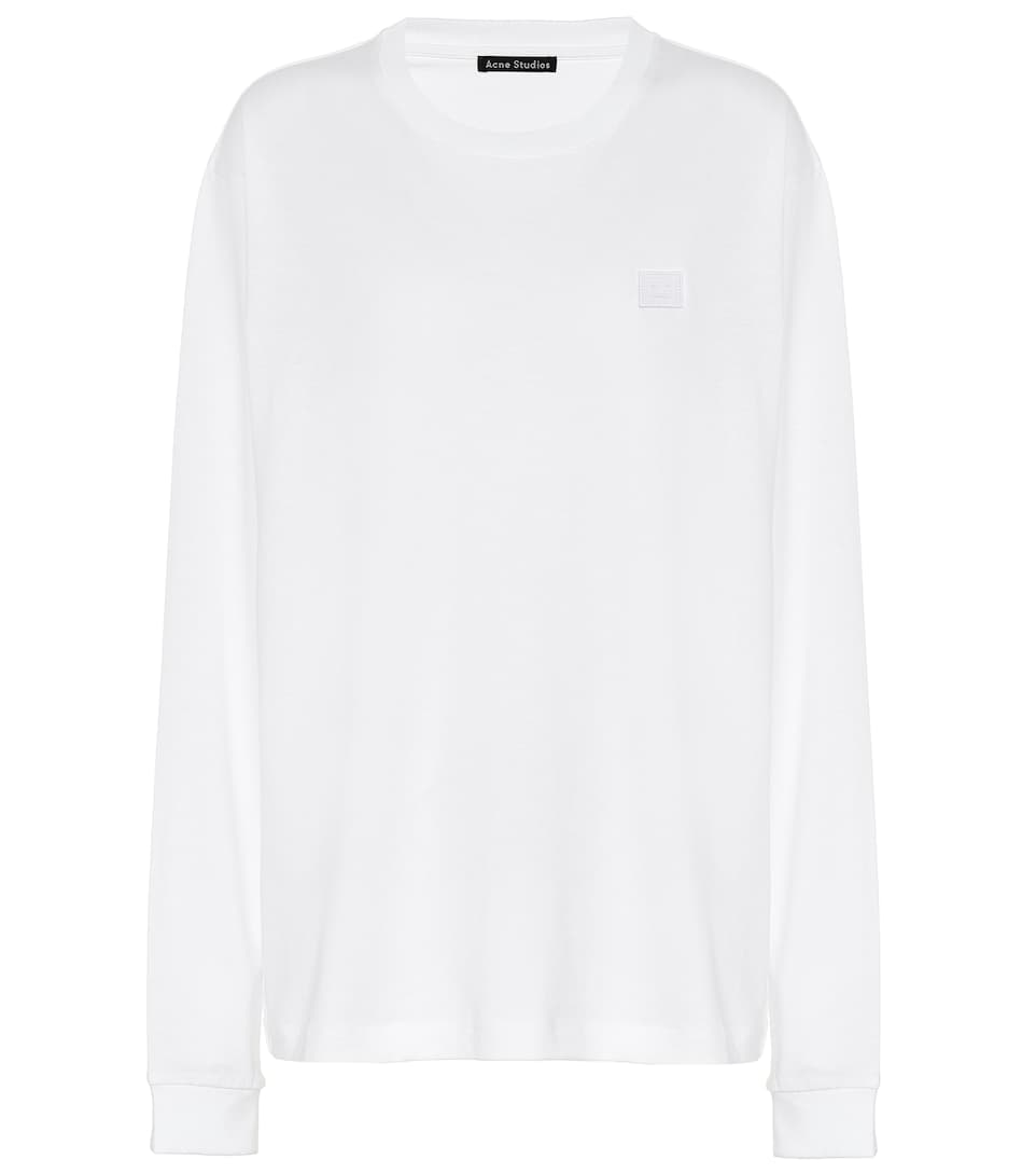 Face Acne Studios Sweat shirt Fairview En Coton iXOuTZPk