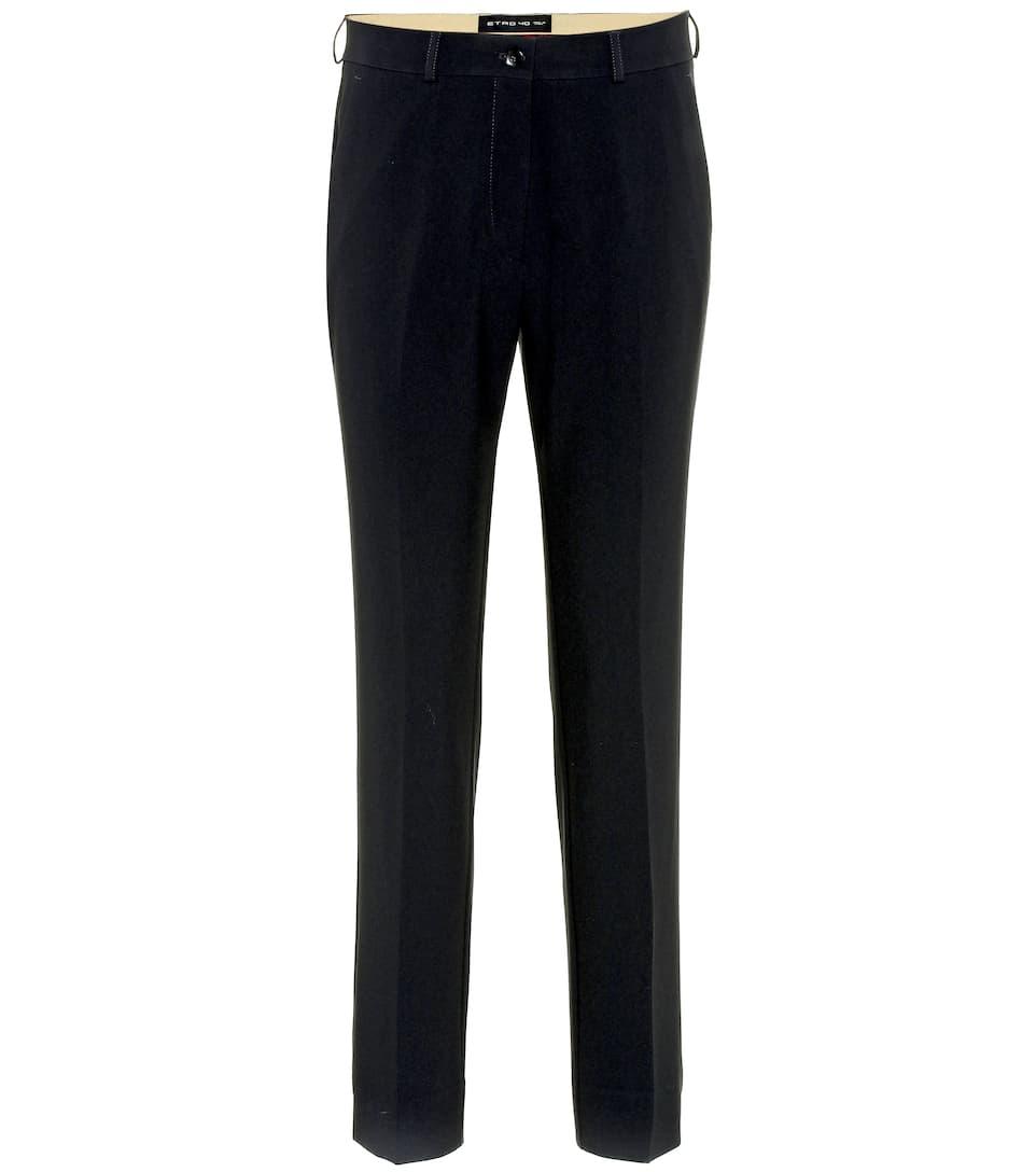 Etro Taille Haute À Pantalon Pantalon Etro hQtrdsC