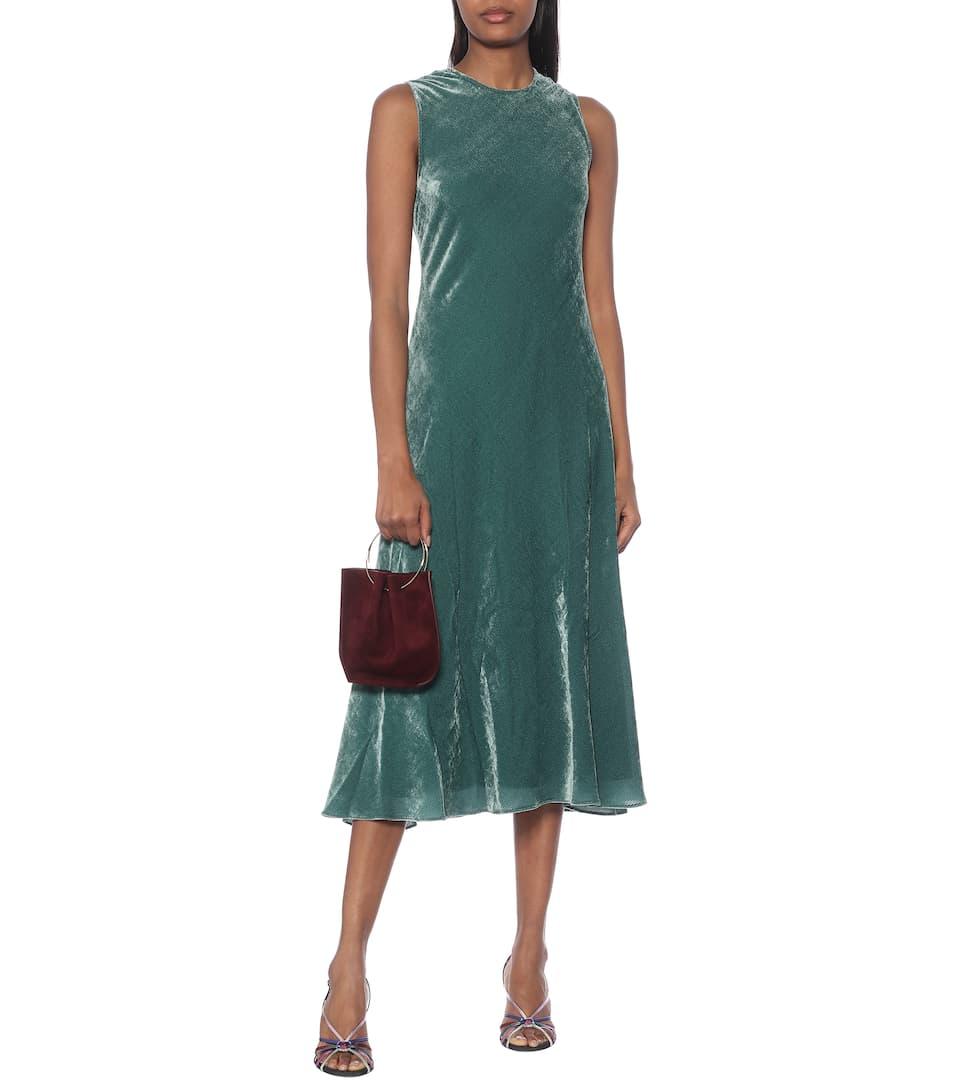 Sies Marjan - Flipper velvet maxi dress