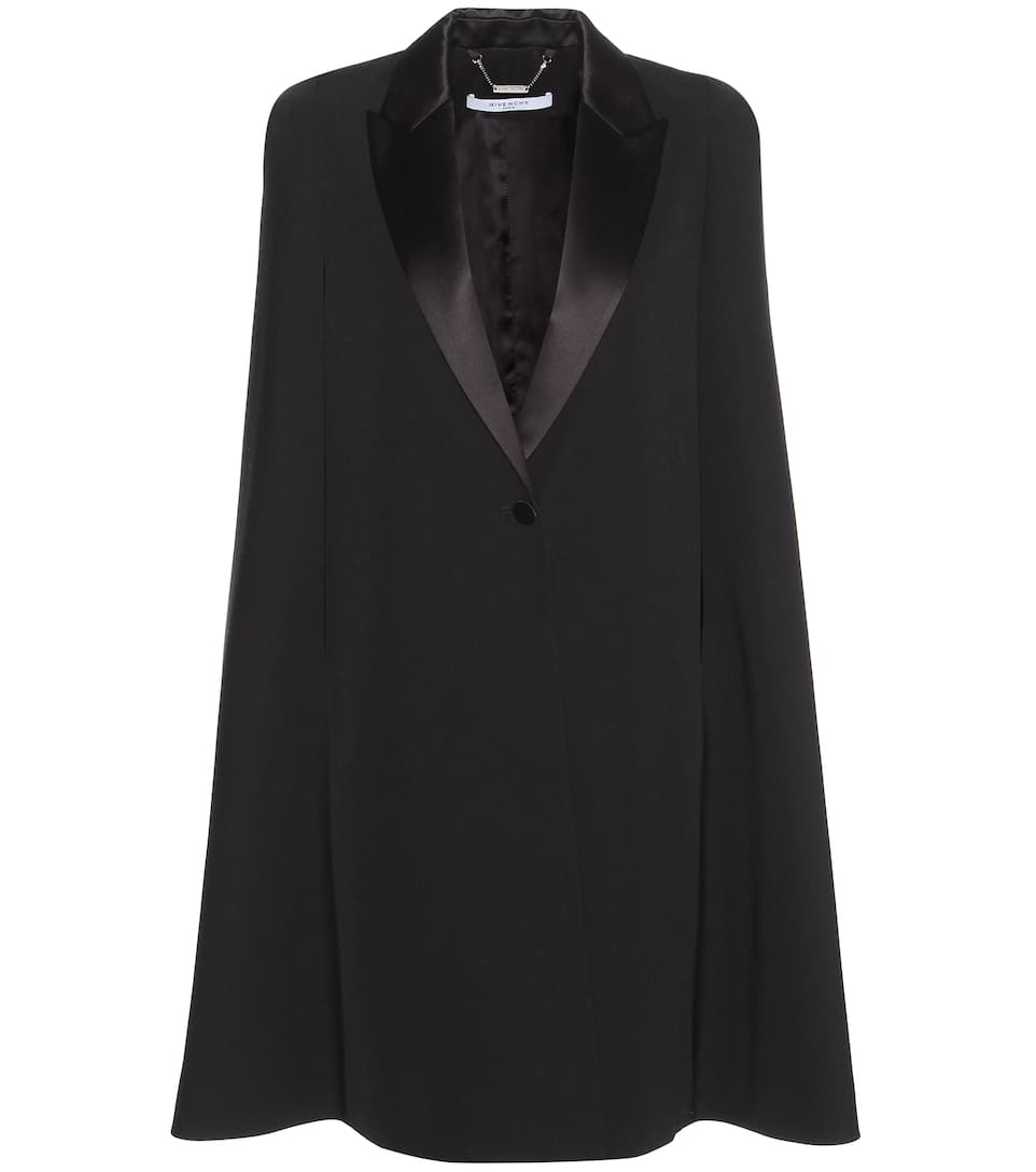 Givenchy Wool cape