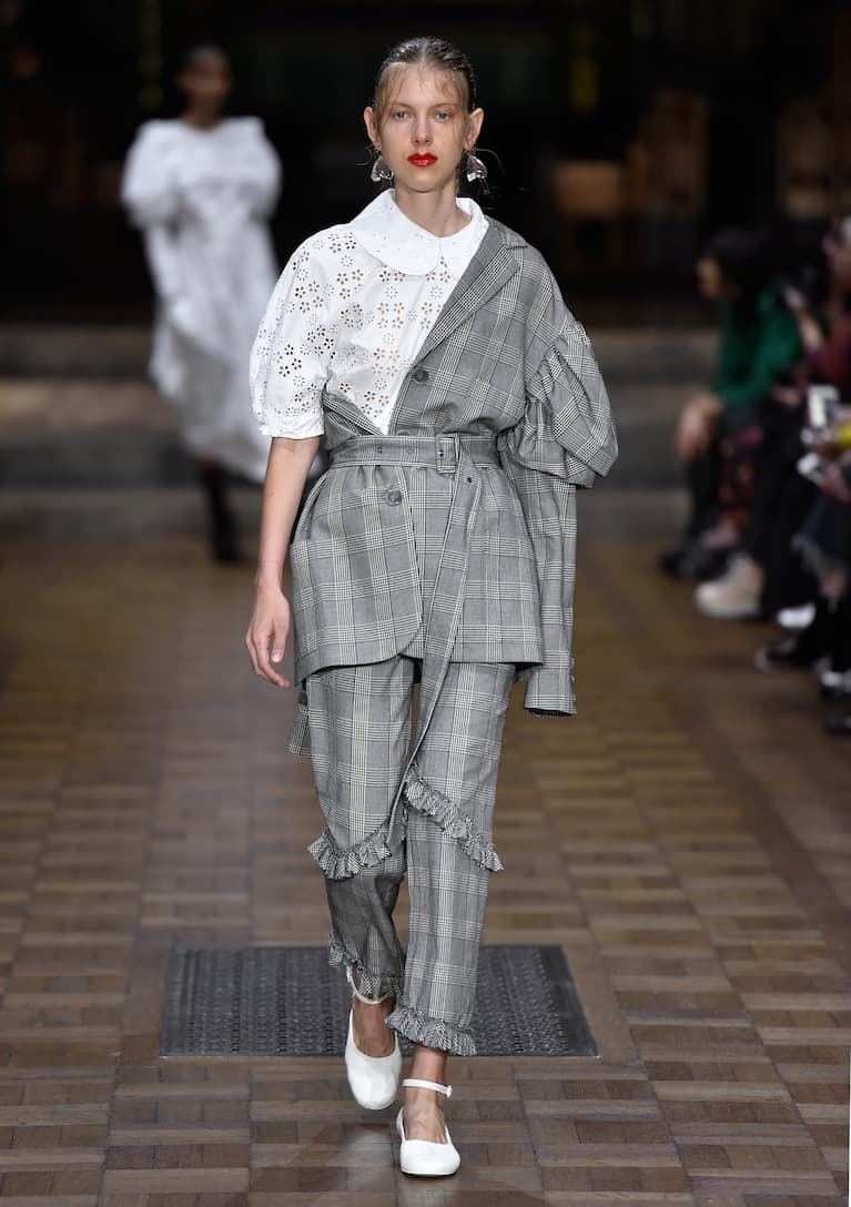 3 Stores In Stock: SIMONE ROCHA Prince Of Wales Checked ...