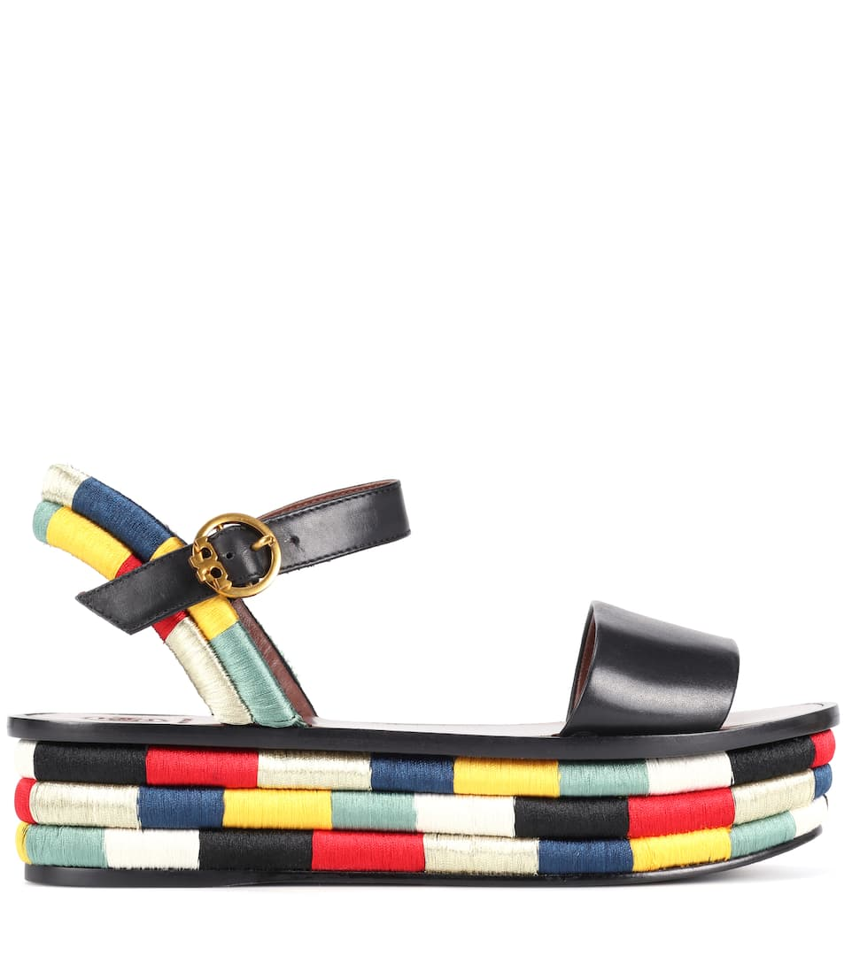 Tory Burch Sandals Camilla Of Leather