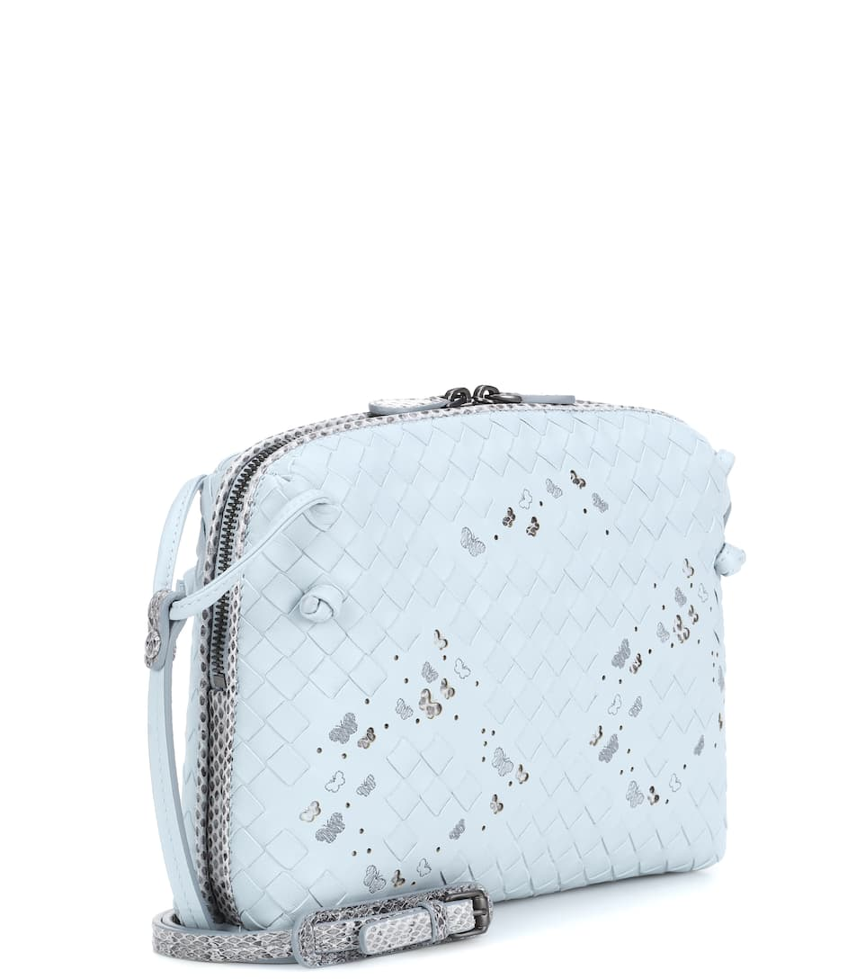 Bottega Veneta Crossbody Tasche aus Leder