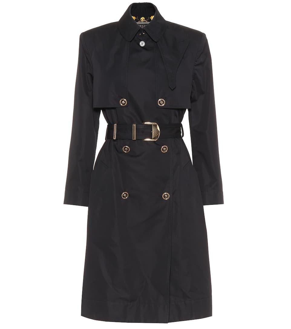 Versace Trenchcoat aus einem Baumwollgemisch