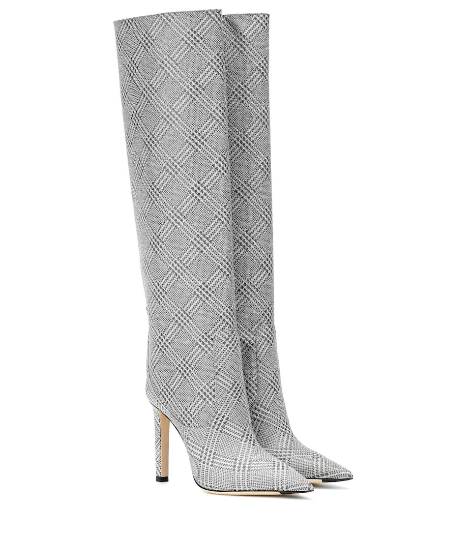 9e358812e0ba Mavis 100 Glitter Knee-High Boots | Jimmy Choo - Mytheresa