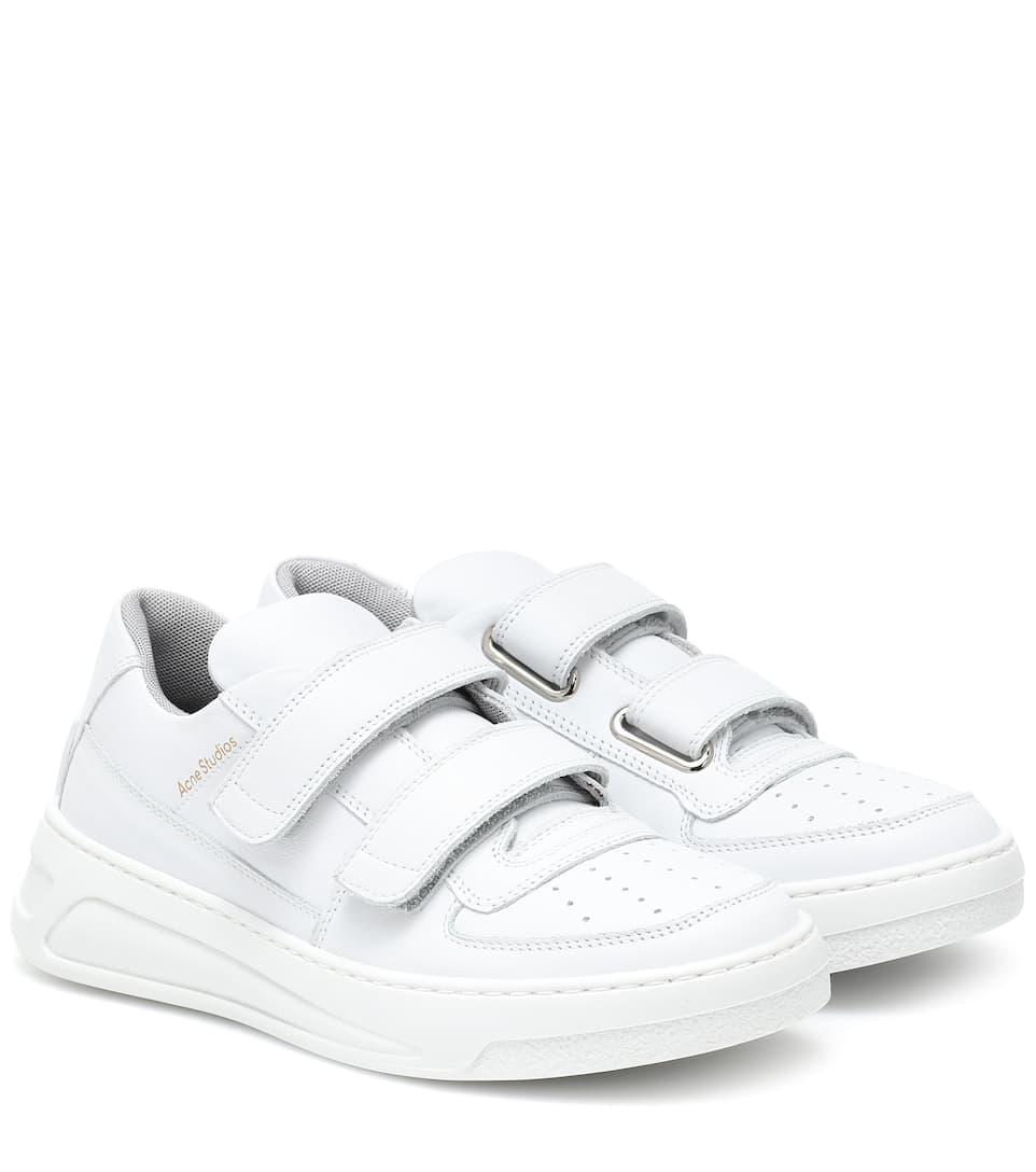 Steffey Leather Sneakers | Acne Studios