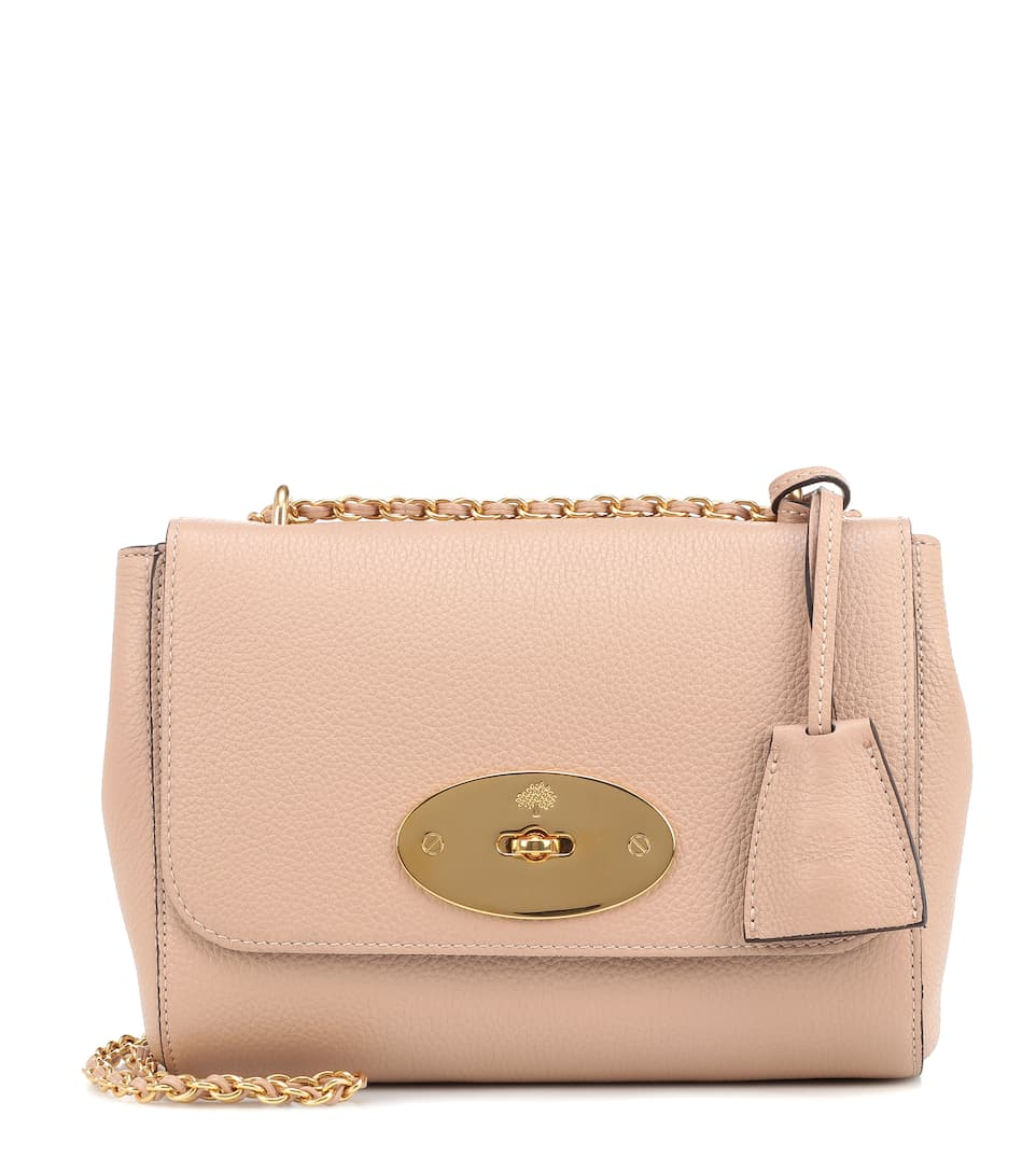 Sac Cross-Body En Cuir Lily Small - Mulberry