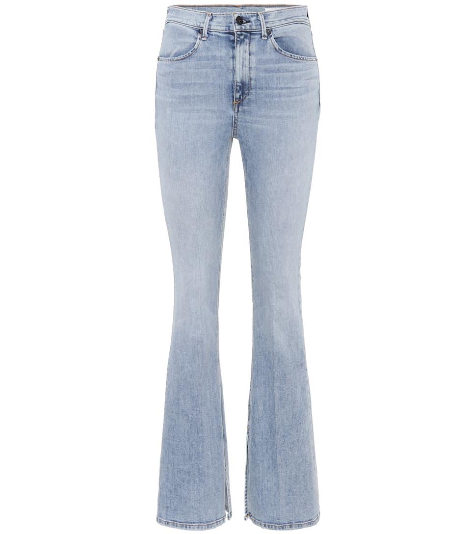 Down de Bone Jeans amp; de alta cintura acampanados Trapo amp; Bella Double 8PA4wqPI