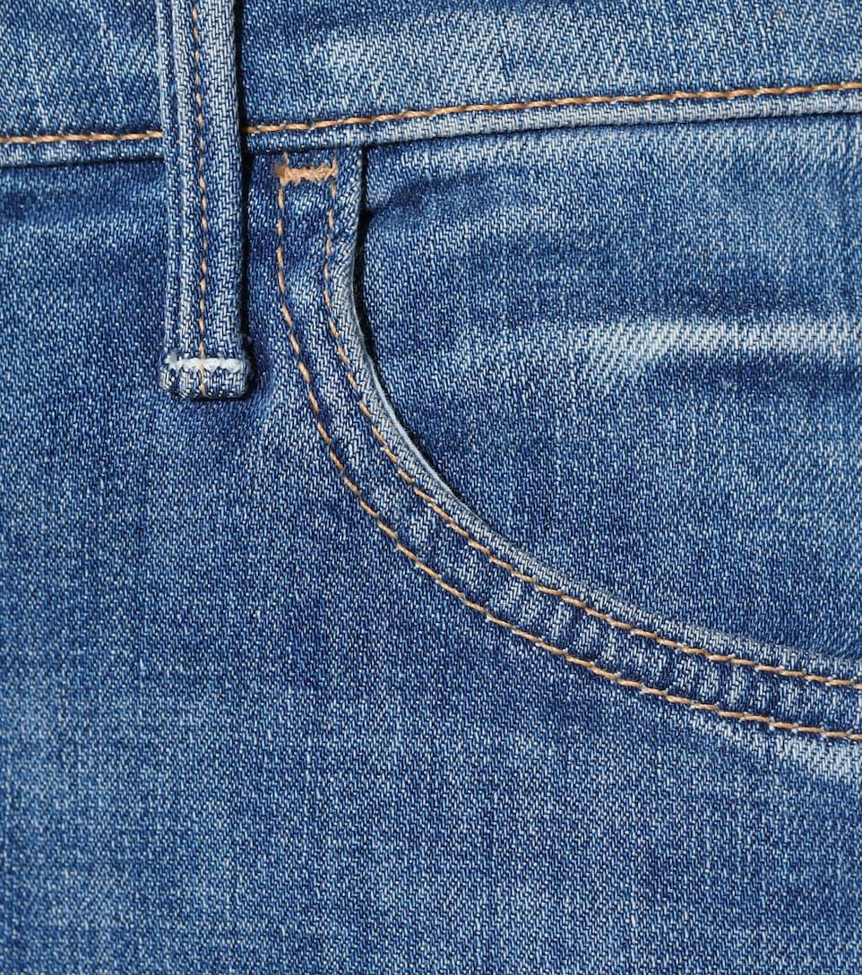 Mother Jeans The Hustler Ankle Fray