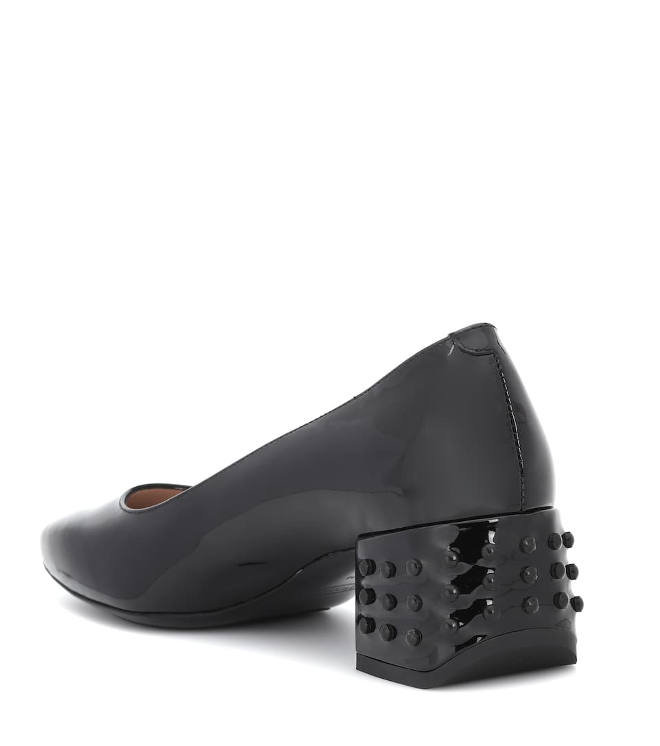Tods Pumps Gommino Of Patent Leather