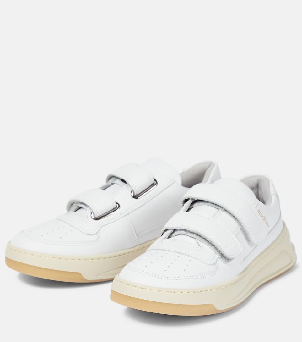 Steffey Leather Sneakers - Acne Studios
