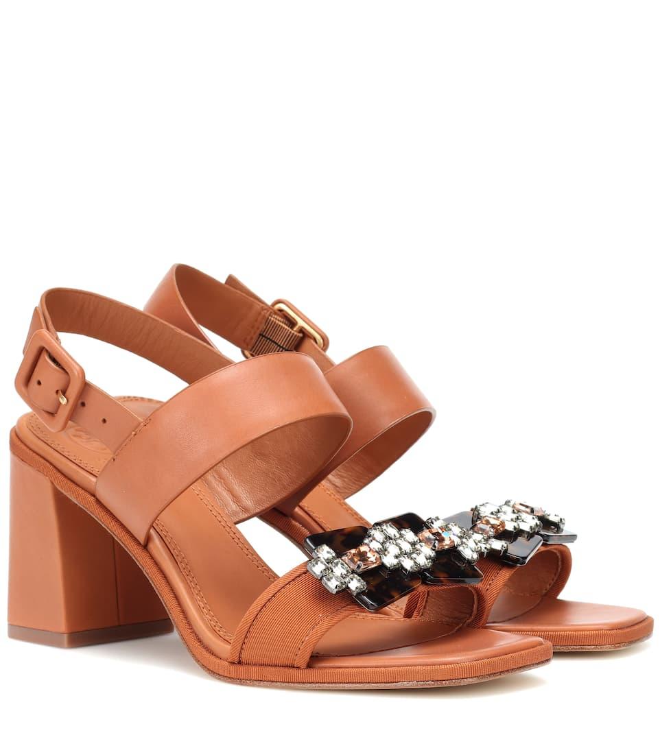 774c54a8bbaf5c Tory Burch - Delaney leather sandals