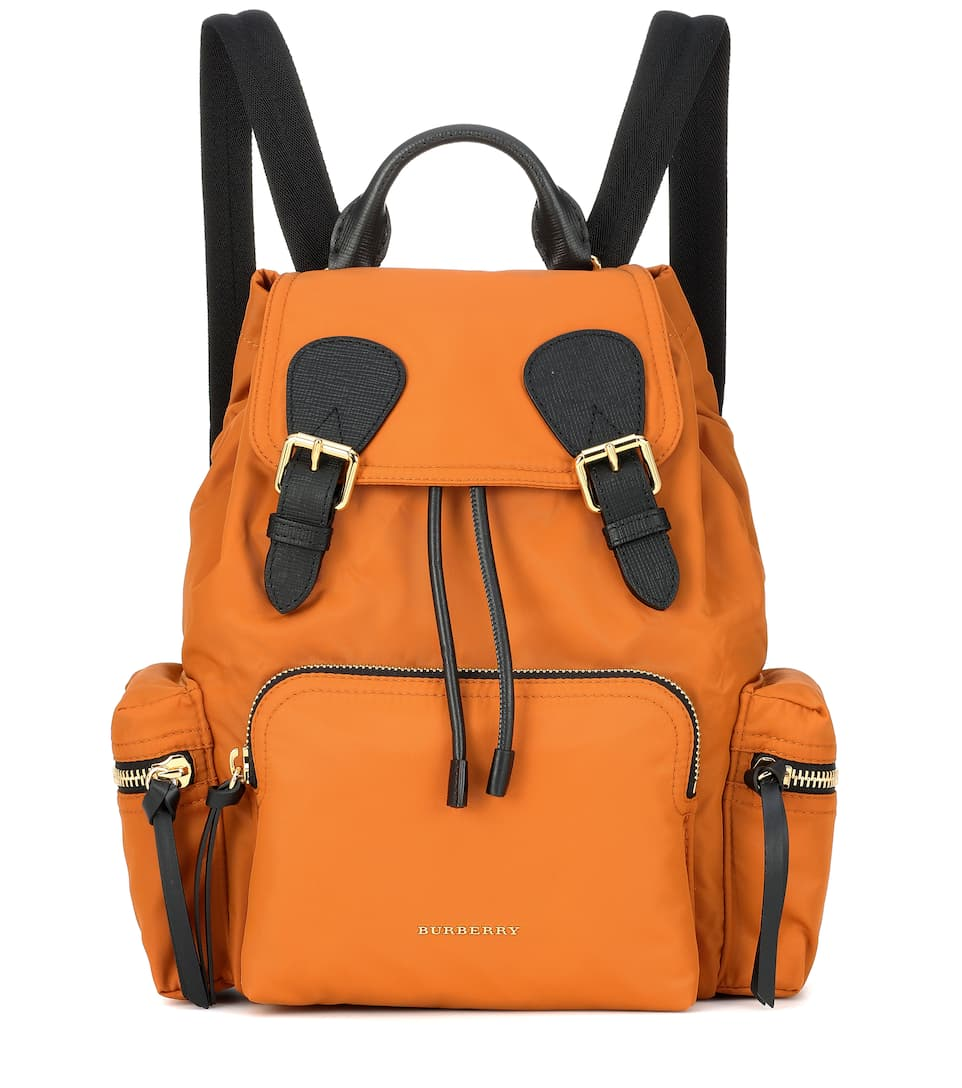 e50272644a The Medium Leather-Trimmed Backpack
