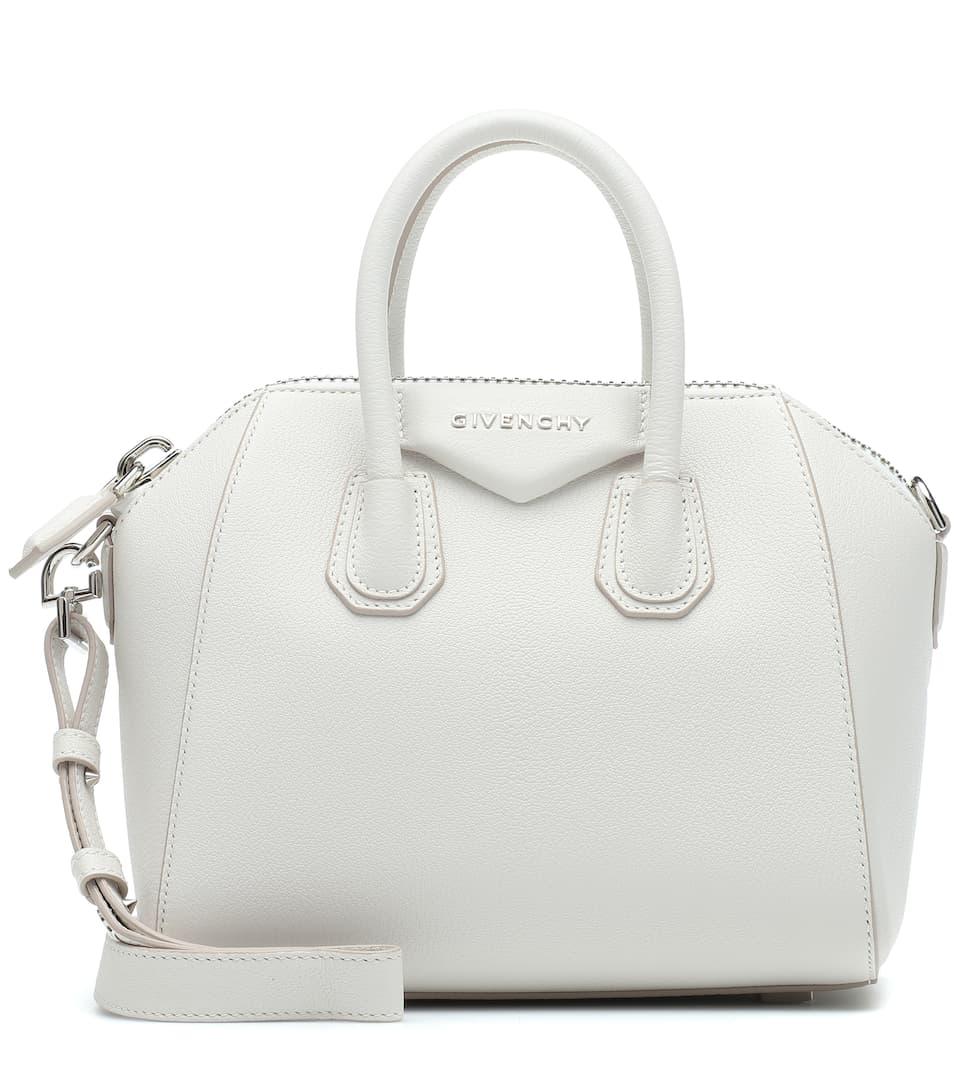 7772ac10d97d Antigona Mini Leather Shoulder Bag | Givenchy - mytheresa.com
